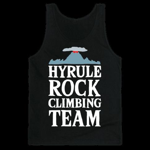 Hyrule Rock Climbing Team Tank Top