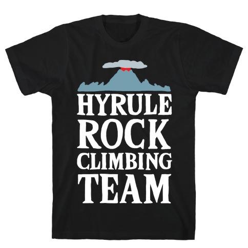 Hyrule Rock Climbing Team T-Shirt