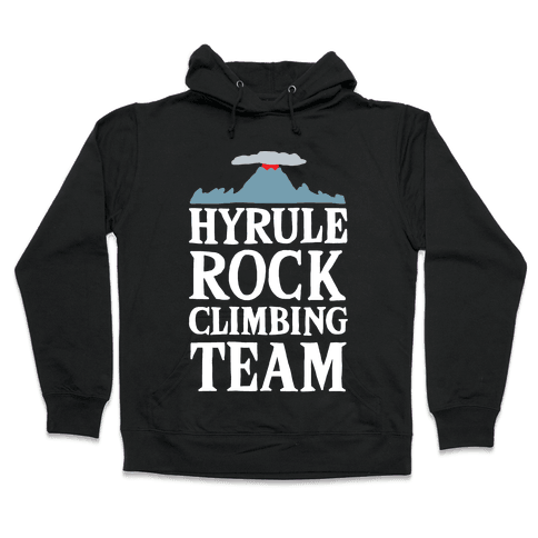 Hyrule Rock Climbing Team Hooded Sweatshirt