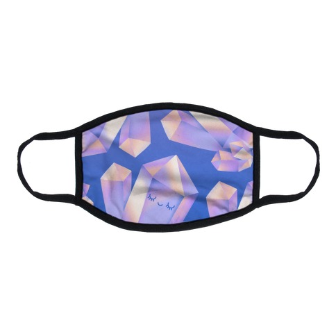 Happy Healing Crystal Flat Face Mask