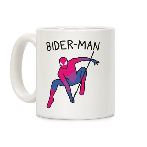 Bider-Man Parody Coffee Mug