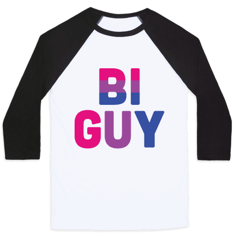 Bi Guy Baseball Tee