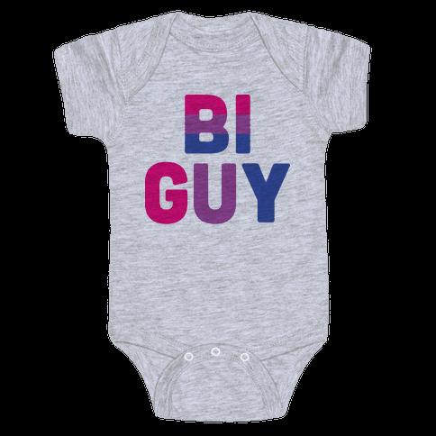 Bi Guy Baby Onesy