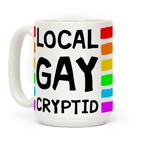 Local Gay Cryptid Coffee Mug