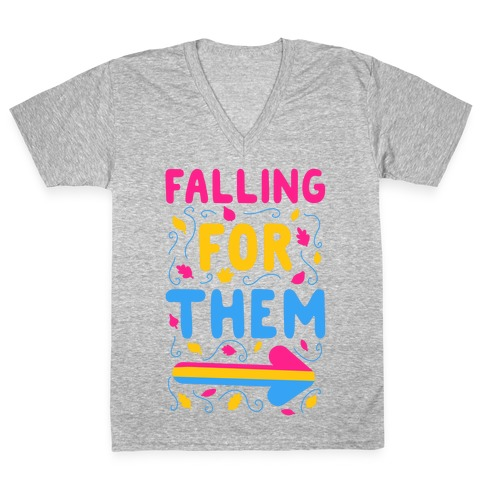 Falling for Them V-Neck Tee Shirt