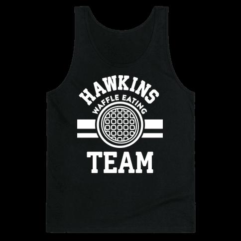 Hawkins Waffle Eating Team Tank Top