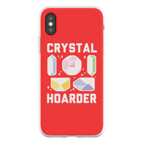 Crystal Hoarder Phone Flexi-Case