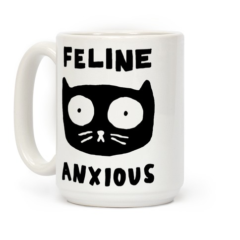 Feline Anxious Coffee Mug