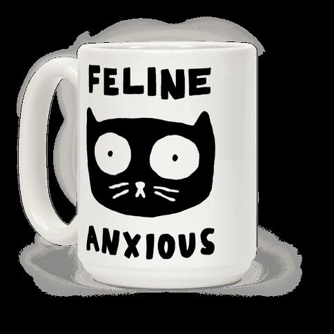 Feline Anxious Coffee Mug