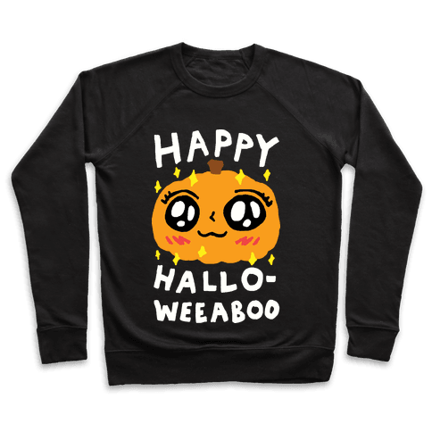 Happy Hallo-Weeaboo Pumpkin Pullover