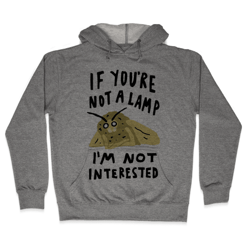 If You're Not A Lamp Im Not Interested Hooded Sweatshirt