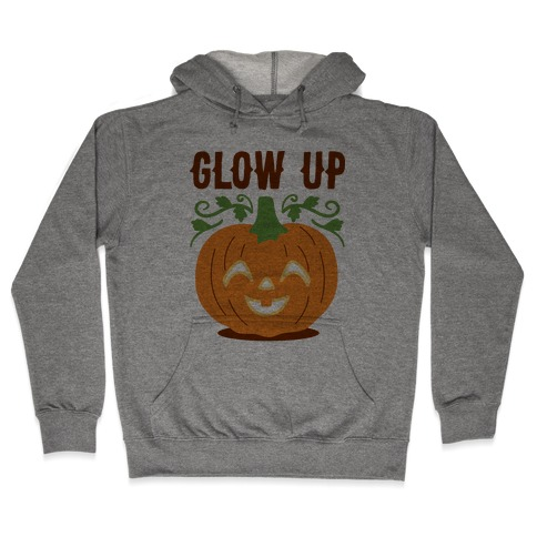 Glow Up Jack-o'-Lantern Hooded Sweatshirt