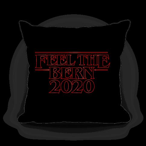 Bernie Things Pillow