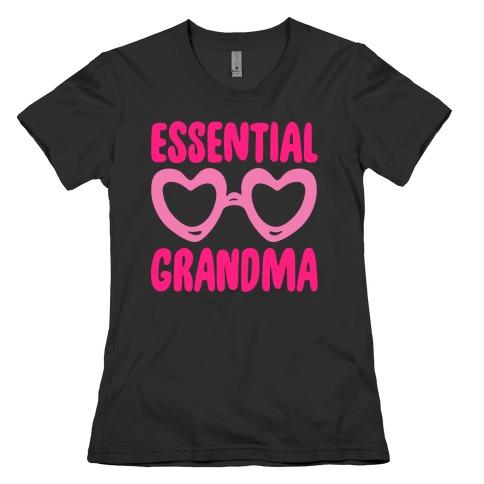Essential Grandma White Print Womens T-Shirt