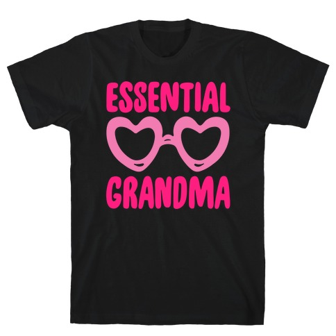 Essential Grandma White Print T-Shirt