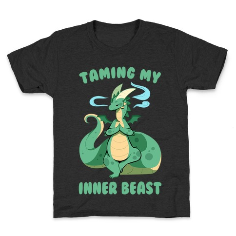 Taming My Inner Beast Kids T-Shirt