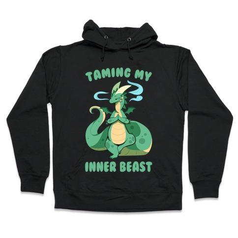 Taming My Inner Beast Hooded Sweatshirt