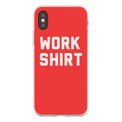 Work Shirt Phone Flexi-Case