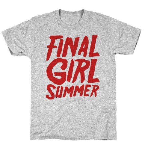 Final Girl Summer Parody T-Shirt
