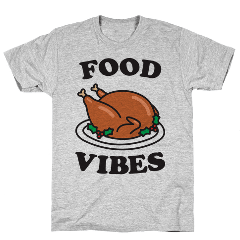Food Vibes Mens T-Shirt