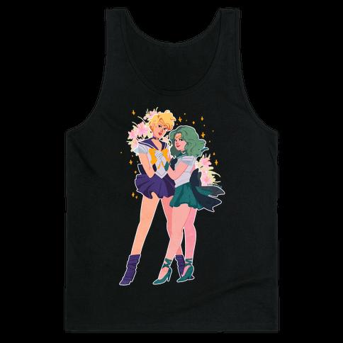 Sailor Neptune & Sailor Uranus Tank Top