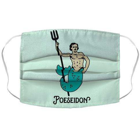 POEseidon, Edgar Allan Poe Poseidon Accordion Face Mask