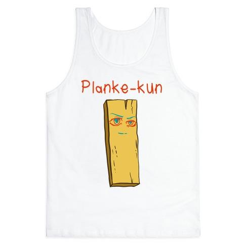 Planke-kun Anime Plank Tank Top