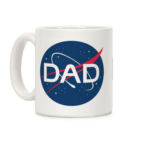 DAD Nasa Parody Coffee Mug