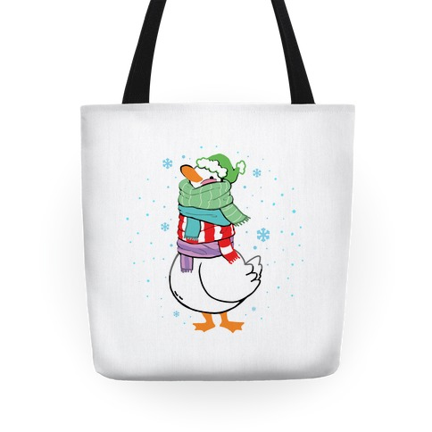 Scarf Duck Tote