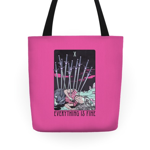 Ten Of Swords (Everything Is Fine) Tote