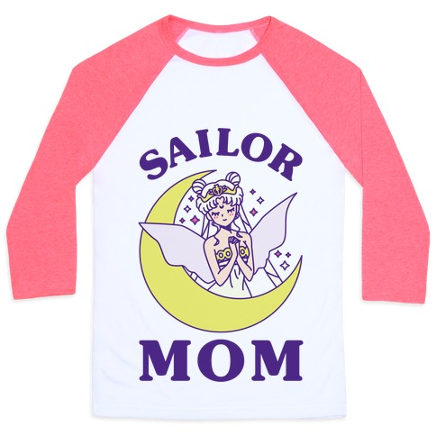 Sailor Mom Baseball Tee