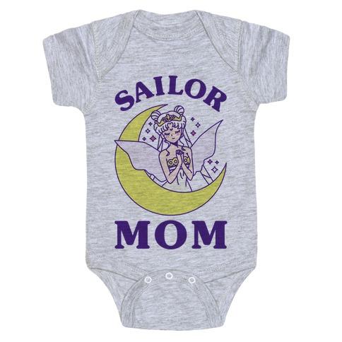 Sailor Mom Baby Onesy