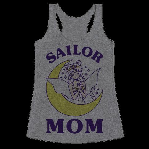Sailor Mom Racerback Tank Top