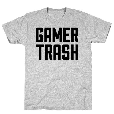Gamer Trash Mens T-Shirt