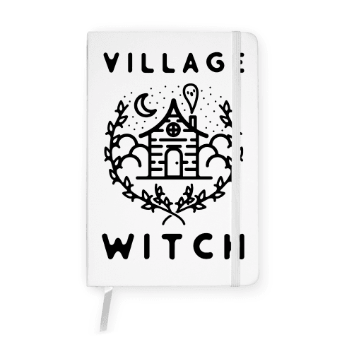 Village Witch Notebook
