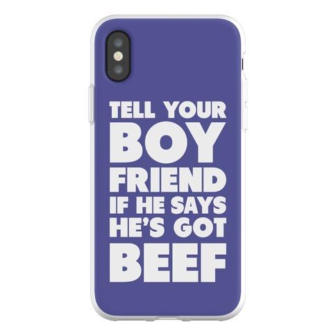 Tell Your Boyfriend Phone Flexi-Case