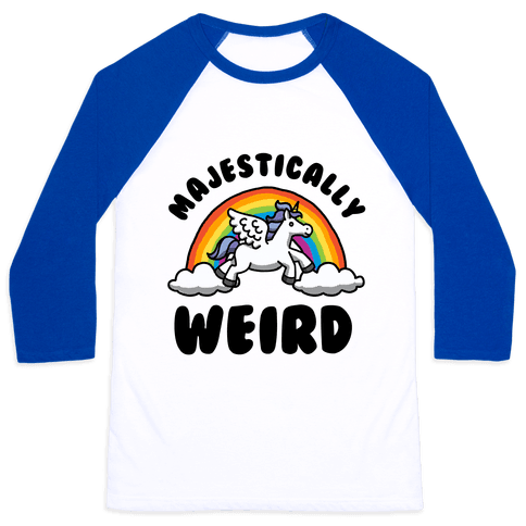 Majestically Weird Baseball Tee