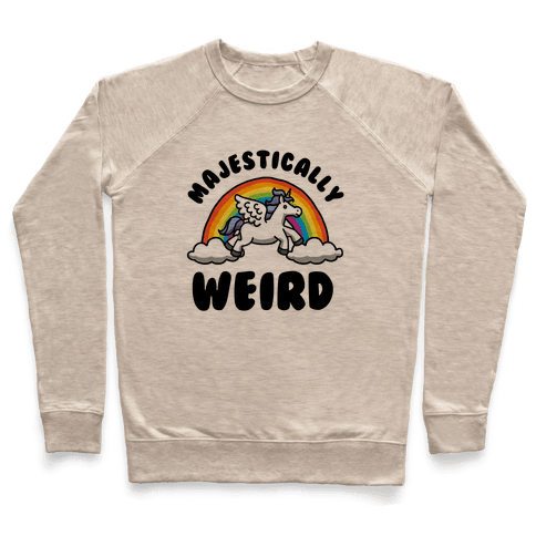 Majestically Weird Pullover