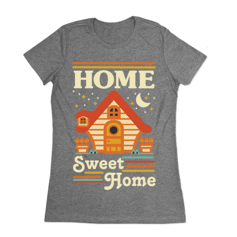 Home Sweet Home Animal Crossing Womens T-Shirt