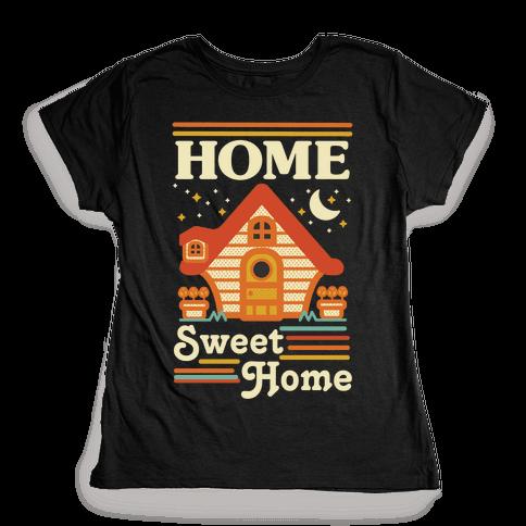 Home Sweet Home Animal Crossing Womens T-Shirt