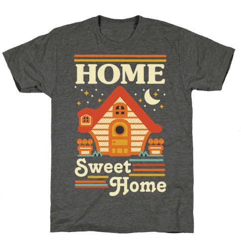 Home Sweet Home Animal Crossing Mens/Unisex T-Shirt