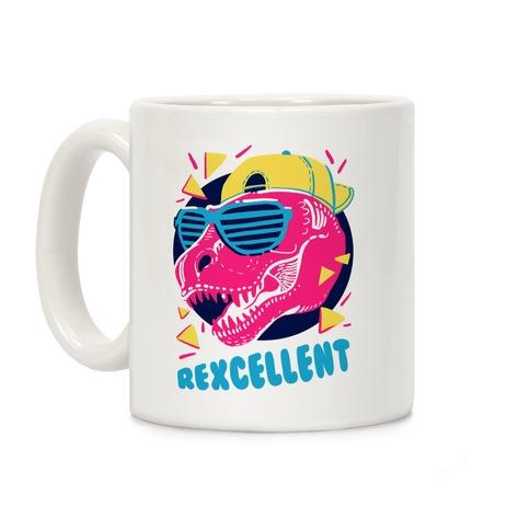T-Rexcellent 90's Dinosaur Tyrannosaurus Coffee Mug