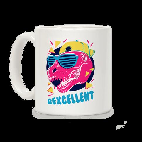 T- Rexcellent 90's Dinosaur Coffee Mug