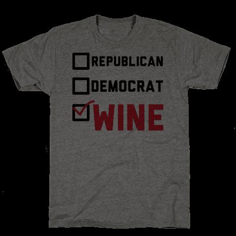 Republican Democrat Wine