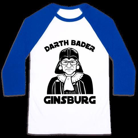 Darth Bader Ginsburg Baseball Tee