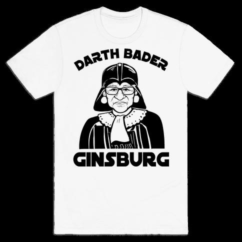 Darth Bader Ginsburg Mens T-Shirt