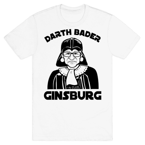 Darth Bader Ginsburg Mens T-Shirt