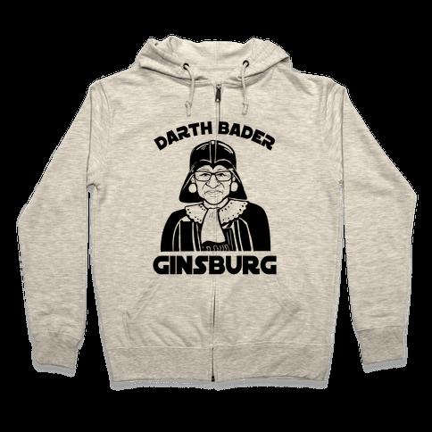 Darth Bader Ginsburg Zip Hoodie