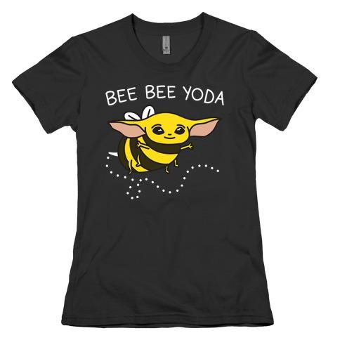 Bee Bee Yoda Womens T-Shirt