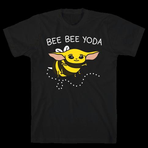 Bee Bee Yoda Mens/Unisex T-Shirt